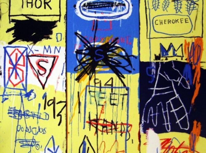 Crowns by Jean-Michel Basquiat