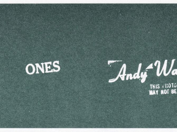 Art Cash by Andy Warhol