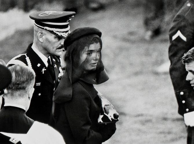 Jackie Kennedy by Elliott Erwitt