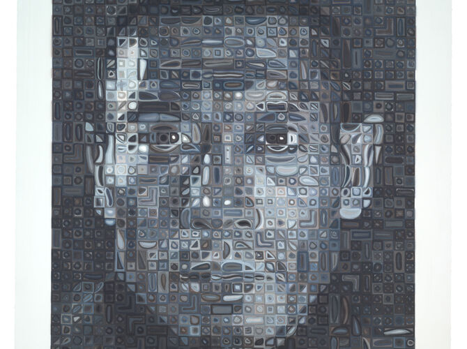 Grids by Chuck Close