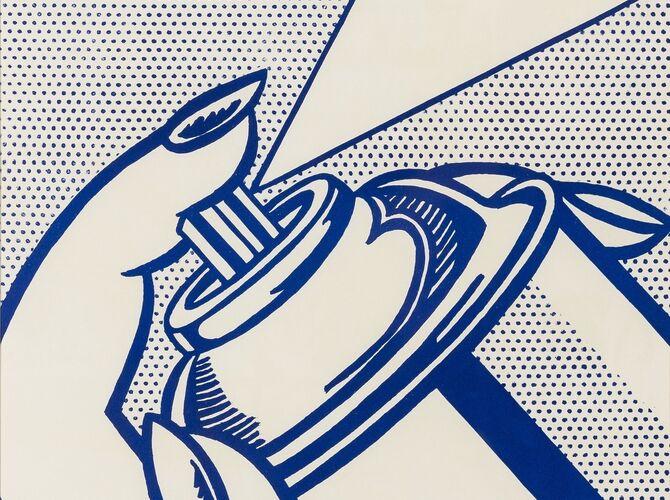 Spray Cans by Roy Lichtenstein