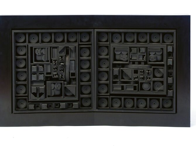 Wood Sculptures by Louise Nevelson