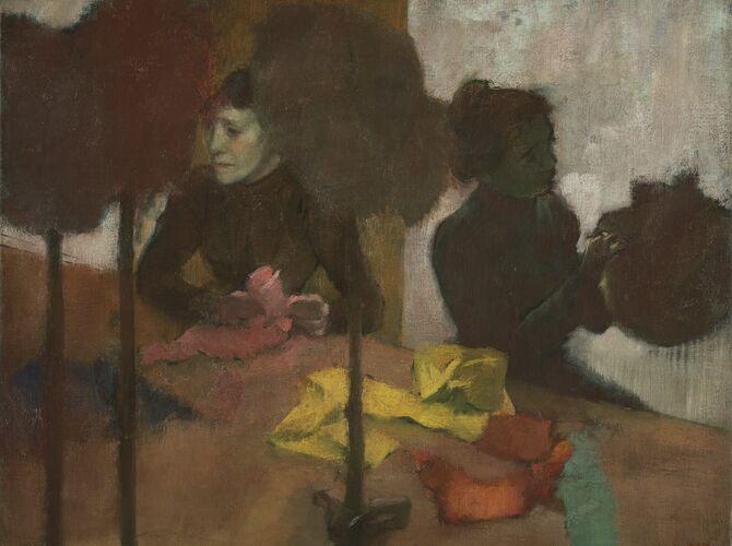 Milliners by Edgar Degas