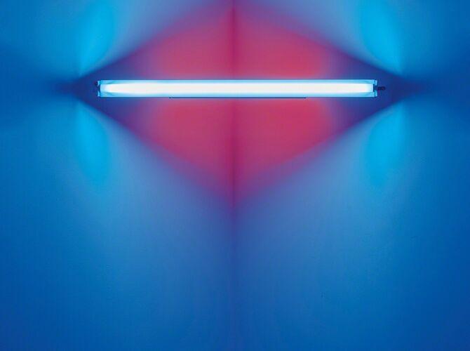Light Art by Dan Flavin