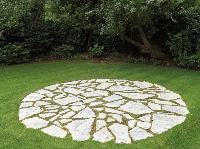 Circles by Richard Long