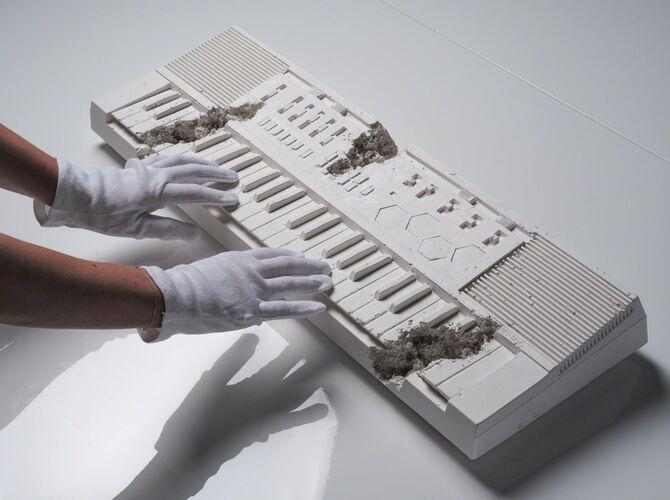 Keyboards by Daniel Arsham