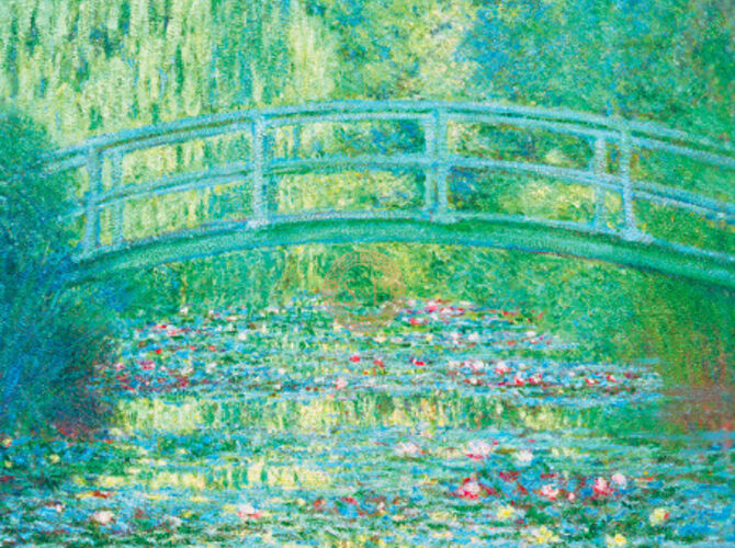 Waterlillies by Claude Monet