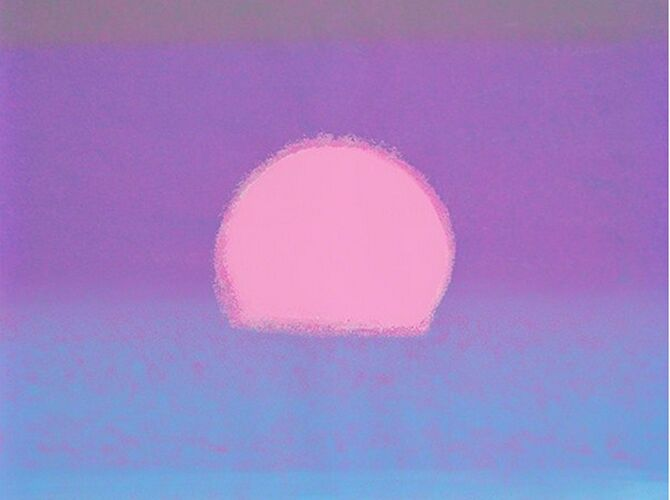 Sunsets by Andy Warhol