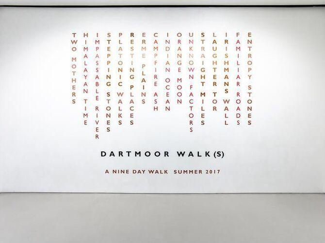 Walks by Richard Long