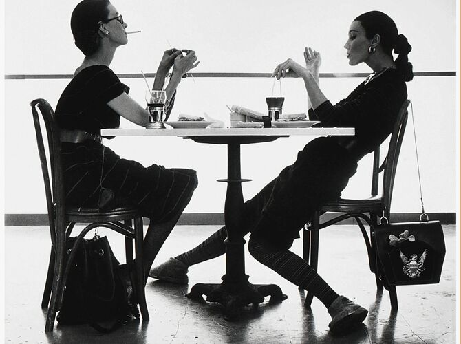Fashion Photography by Irving Penn