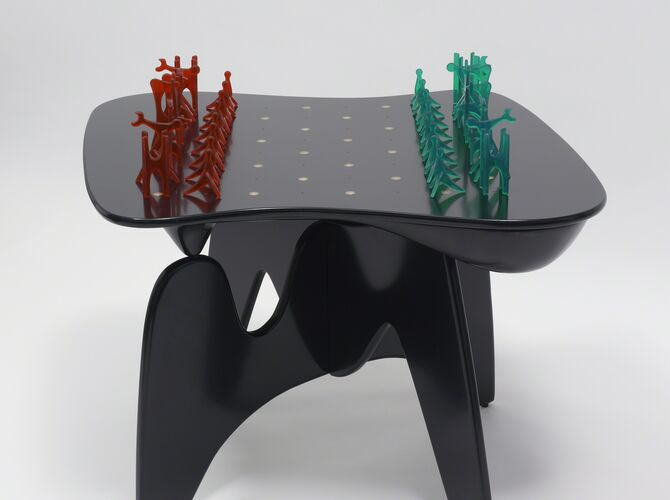 Chess Table by Isamu Noguchi