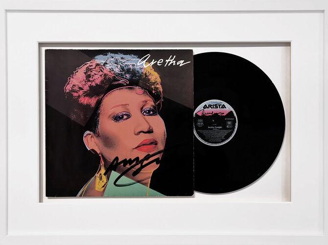 Aretha Franklin by Andy Warhol