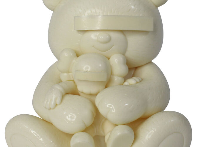 Undercover Bear by KAWS