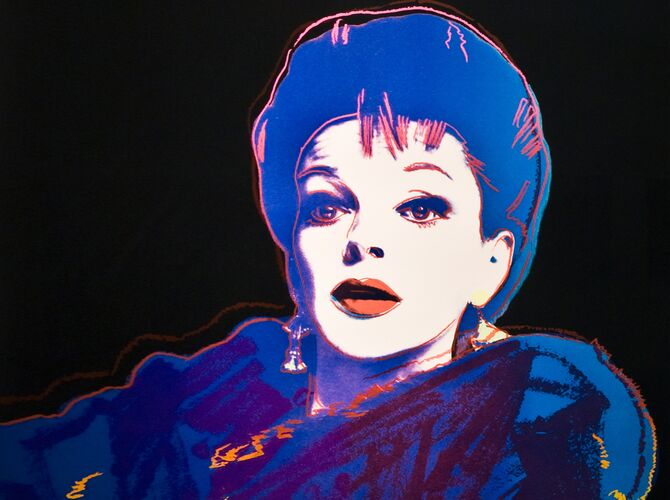 Blackglama by Andy Warhol