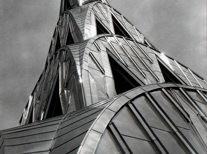 Chrysler Building by Margaret Bourke-White