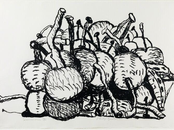 Cherries by Philip Guston