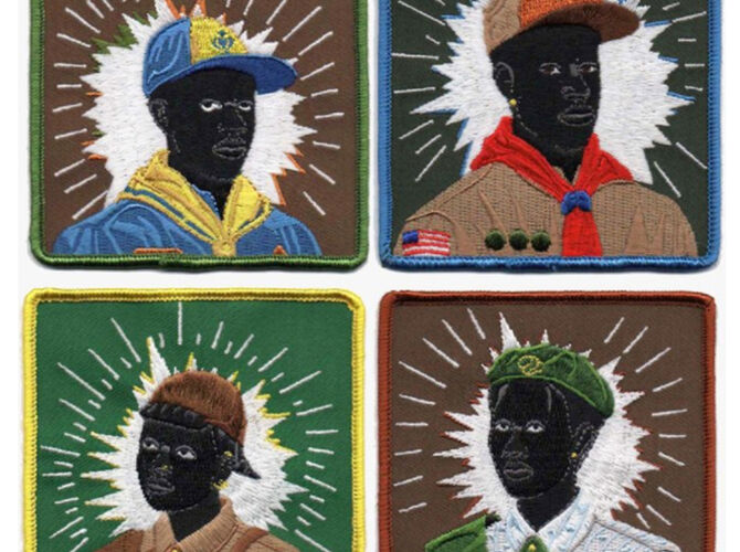 Scouts by Kerry James Marshall