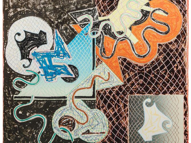 Shards by Frank Stella