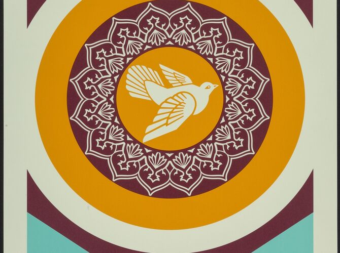 Peace by Shepard Fairey