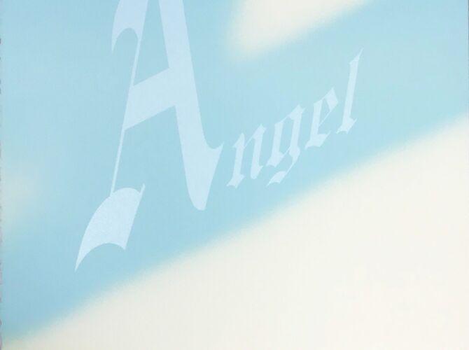 Angel by Ed Ruscha