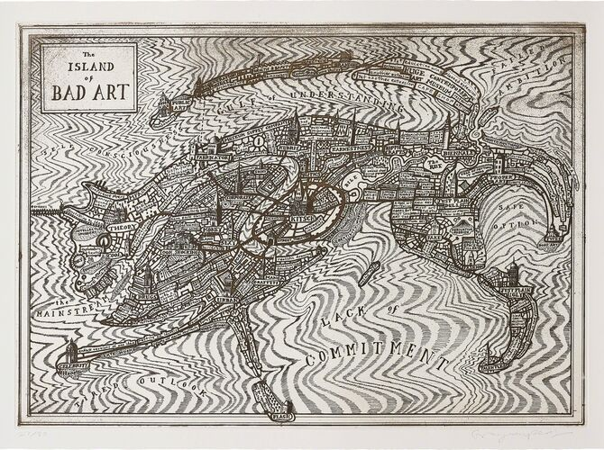 Island of Bad Art by Grayson Perry
