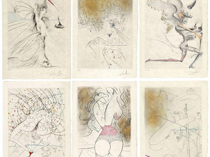 Mythologies by Salvador Dalí