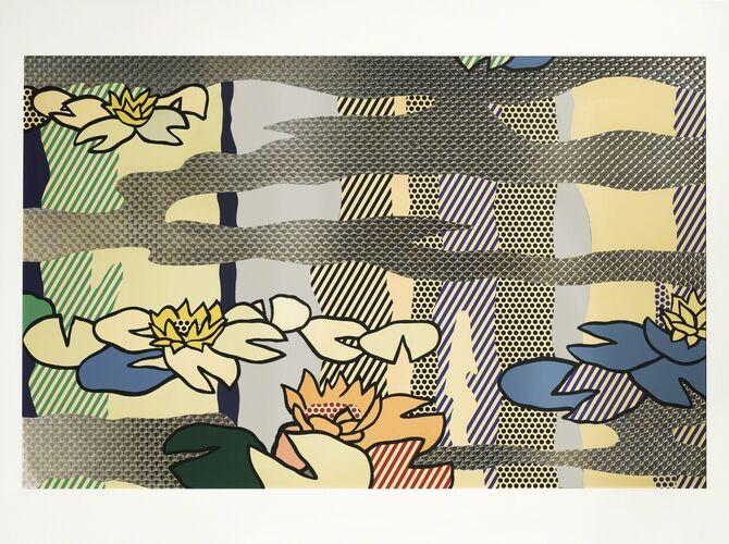 Water Lilies by Roy Lichtenstein