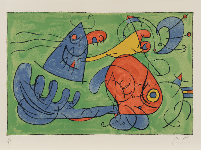 Ubu Roi by Joan Miró