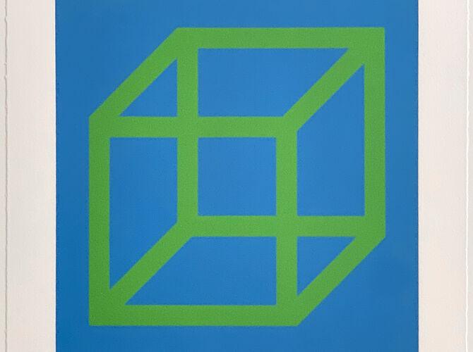 Cubes by Sol LeWitt