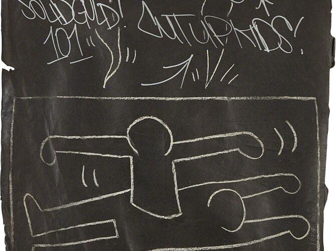 Subway Drawings by Keith Haring