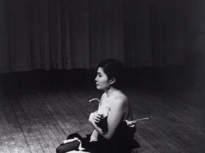 Cut Piece by Yoko Ono