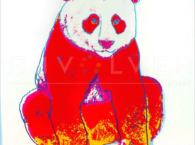 Giant Pandas by Andy Warhol