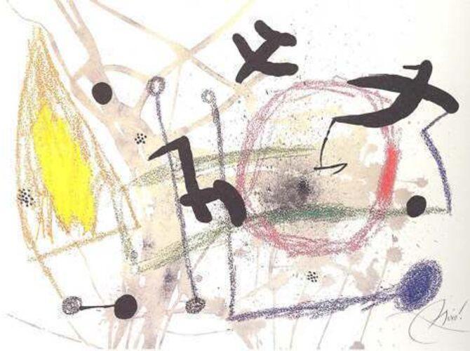 Maravillas by Joan Miró