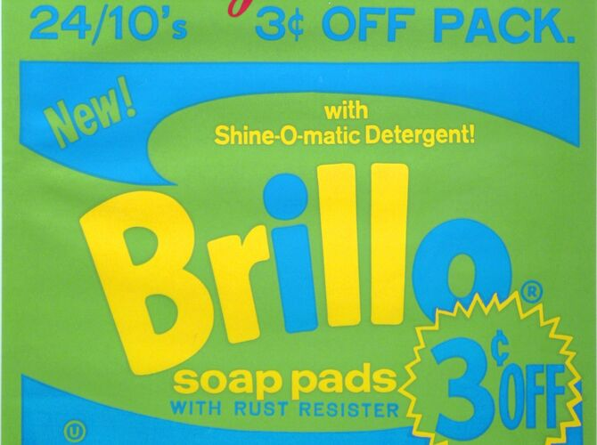 Brillo Boxes by Andy Warhol