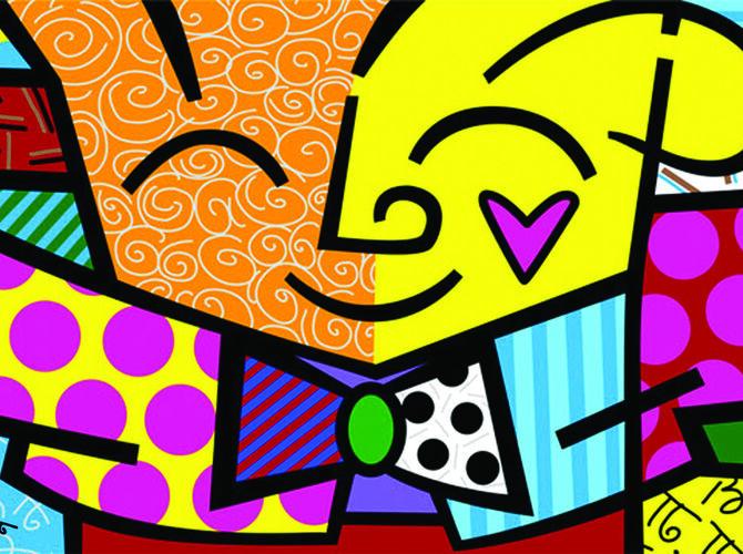 Hearts by Romero Britto