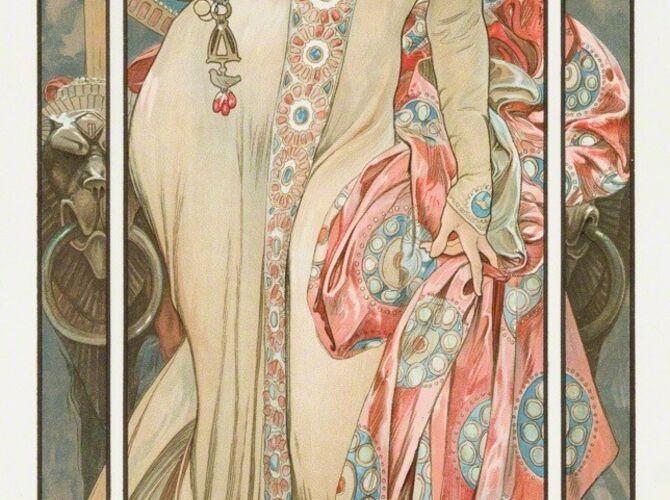 Moët & Chandon by Alphonse Mucha