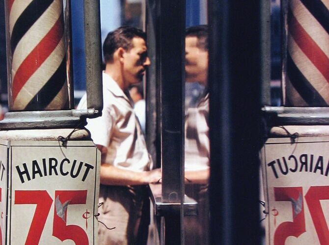 Color Photography by Saul Leiter
