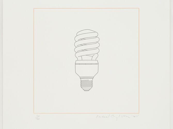 Lightbulbs by Michael Craig-Martin