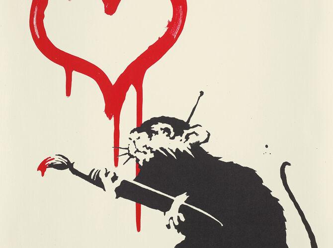 Rats by Banksy