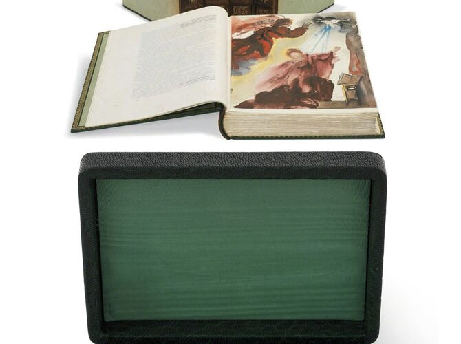 The Bible by Salvador Dalí