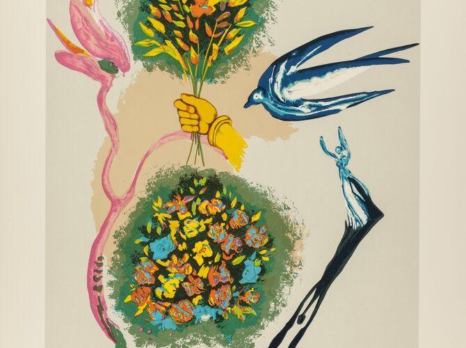 Butterflies by Salvador Dalí