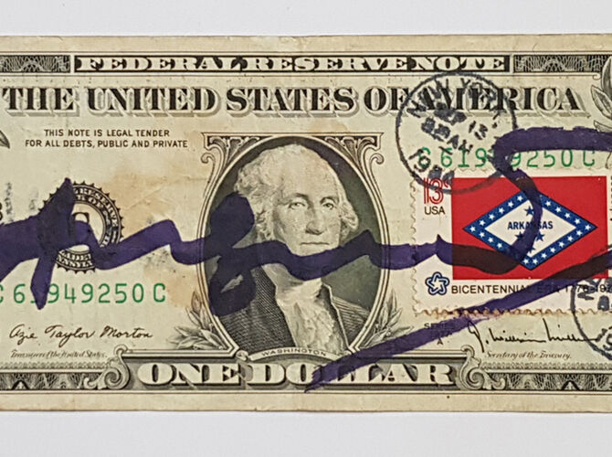 Dollar Bills by Andy Warhol