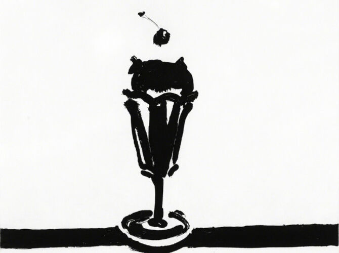 Ice Cream by Wayne Thiebaud