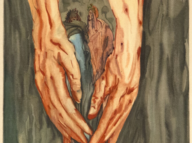 The Divine Comedy by Salvador Dalí