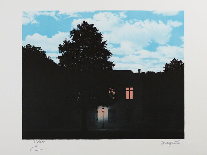 Clouds by René Magritte