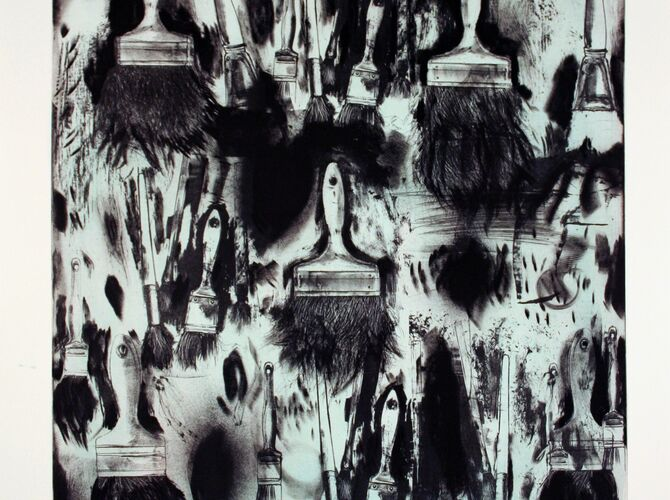 Brushes by Jim Dine