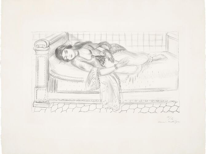 Odalisque by Henri Matisse