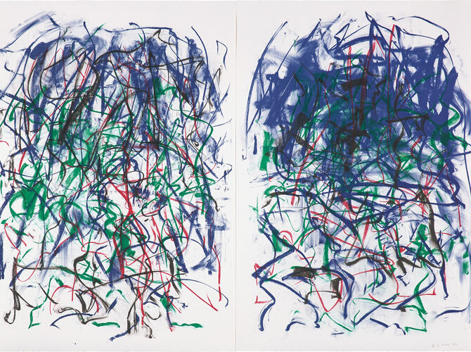 Sunflowers by Joan Mitchell