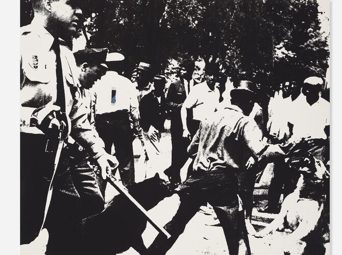 Birmingham Race Riot by Andy Warhol