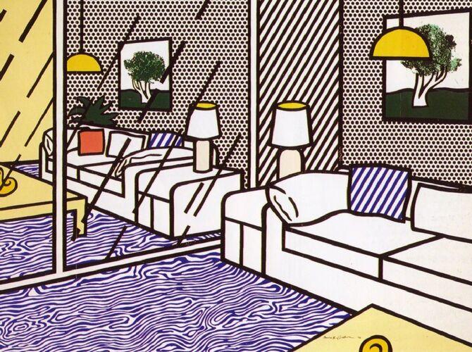 Mirrors by Roy Lichtenstein